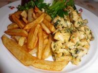 Sajtos petrezselymes csirkemell recept