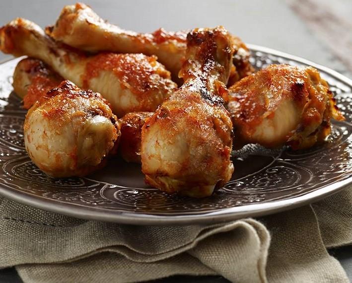 Egzotikus grillezett csirkecombok