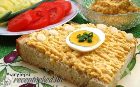Mustáros tojáspástétom recept