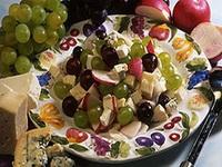 Színes szőlősaláta