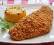 Fehérboros-sajtos sült hal