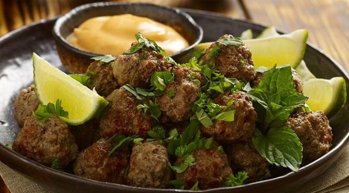 Brazil húsgolyók ismertebb nevén Kibe