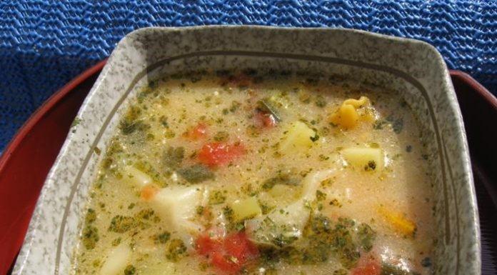 Erdélyi tárkonyos leves